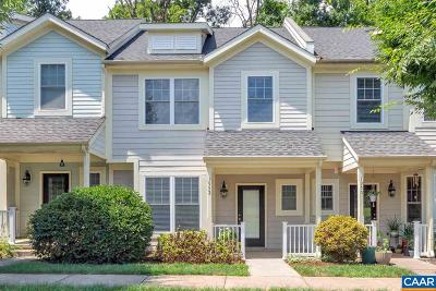 Albemarle County Townhome For Sale: 1952 Tudor Ct