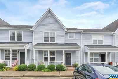 Albemarle County Townhome For Sale: 308 Marquette Ct