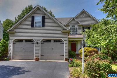 Charlottesville Single Family Home For Sale: 620 Nettle Ct