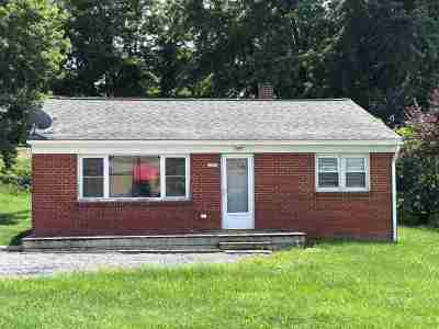 Rockingham County Single Family Home For Sale: 2151 John Wayland Hwy
