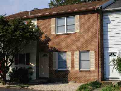 Harrisonburg Townhome For Sale: 874 Vine St