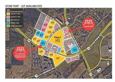 Harrisonburg Commercial For Sale: Lot 16 Stone Port Blvd