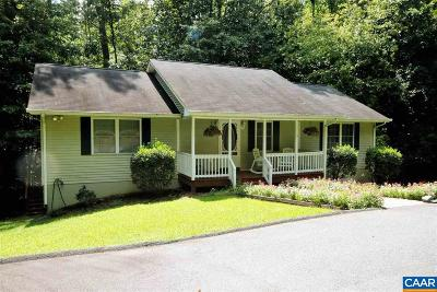 Fluvanna County Single Family Home For Sale: 21 Morewood Pl
