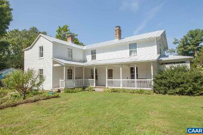 Louisa County Single Family Home For Sale: 10348 Louisa Rd