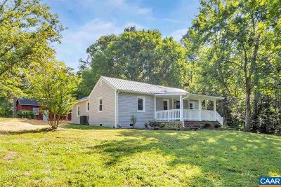 Albemarle County Single Family Home For Sale: 3867 Rolling Rd