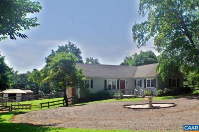 Charlottesville Single Family Home For Sale: 2617 Proffit Rd