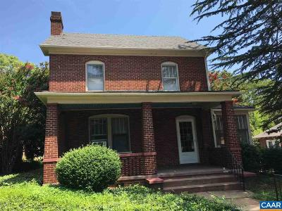 Charlottesville Multi Family Home Active W/Kickout: 1407 Grady Ave