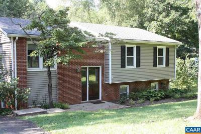 Albemarle County Single Family Home For Sale: 960 Claudius Ct