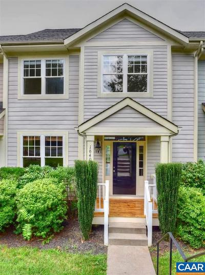 Albemarle County Townhome For Sale: 1640 Hathaway St
