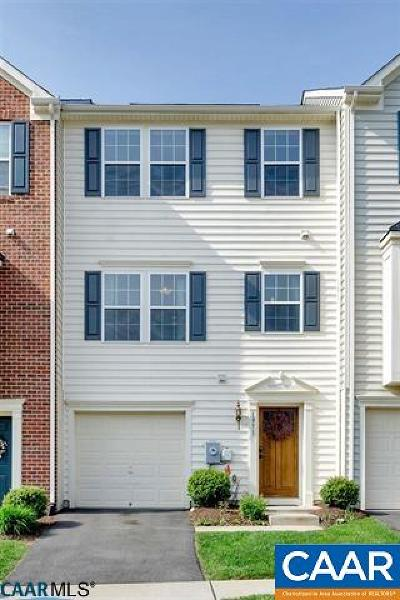 Albemarle County Townhome For Sale: 1971 Asheville Dr