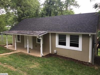 Staunton VA Single Family Home For Sale: $94,500