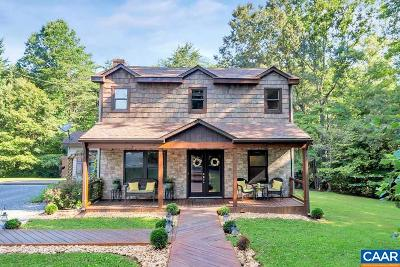 Fluvanna County Single Family Home For Sale: 2523 Ridge Rd
