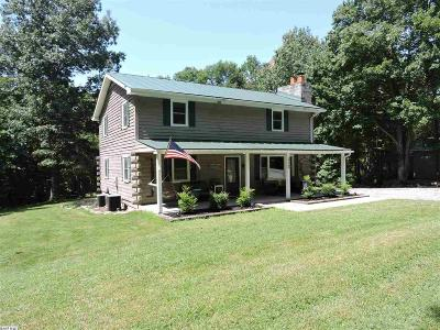 Augusta County Single Family Home For Sale: 210 Mountain Top Ln