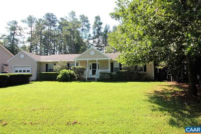 Fluvanna County Single Family Home For Sale: 572 Jefferson Dr