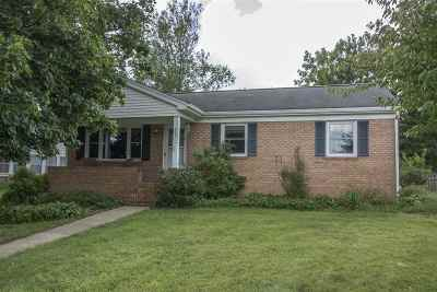 Harrisonburg Single Family Home For Sale: 827 Grant St