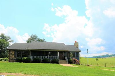 Augusta County Single Family Home For Sale: 354 Mish Barn Rd