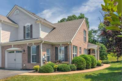 Albemarle County Townhome For Sale: 1315 Gate Post Ln