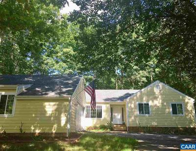 Fluvanna County Single Family Home For Sale: 1 Hardwood Rd