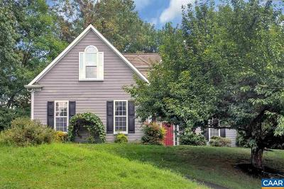 Charlottesville Single Family Home For Sale: 1194 Fox Horn Ct