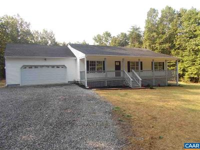 Single Family Home For Sale: 321 White Walnut Rd