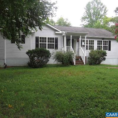 Fluvanna County Single Family Home For Sale: 51 Lafayette Dr