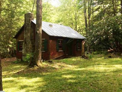 Single Family Home For Sale: Tba Laurel Fork Rd