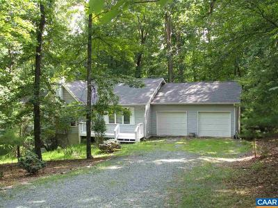Fluvanna County Single Family Home For Sale: 3 Snead Ct