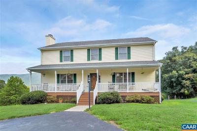 Crozet Single Family Home For Sale: 4844 Fox Mountain Rd