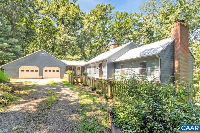Albemarle County Single Family Home For Sale: 7386 Batesville Rd