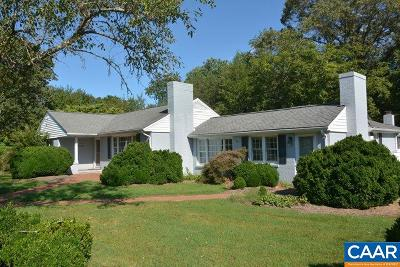 Albemarle County Single Family Home For Sale: 5899 Gordonsville Rd