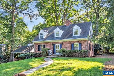 Charlottesville Single Family Home For Sale: 1618 King Mountain Rd
