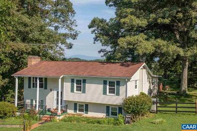 Albemarle County Single Family Home For Sale: 3000 Watts Farm Rd