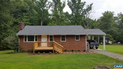 Albemarle County Single Family Home For Sale: 2636 Proffit Rd