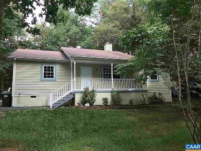 Palmyra VA Single Family Home For Sale: $157,000