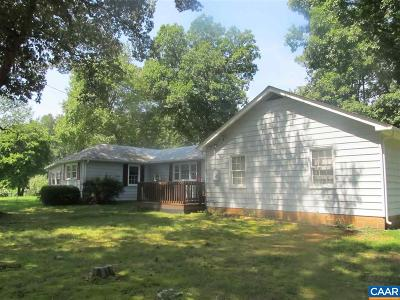 Fluvanna County Single Family Home For Sale: 17865 James Madison Hwy
