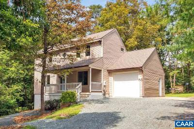 Fluvanna County Single Family Home For Sale: 5 Deer Path Rd