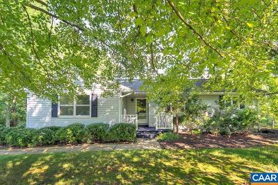 Albemarle County Single Family Home For Sale: 4960 Christmas Hill Ln