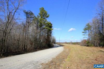 Buckingham County Lots & Land For Sale: Warminister Church Rd