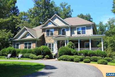 Earlysville VA Single Family Home For Sale: $925,000
