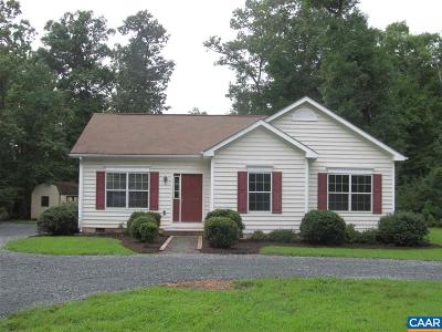 Albemarle County Single Family Home Pending: 6882 Albevanna Spring Rd