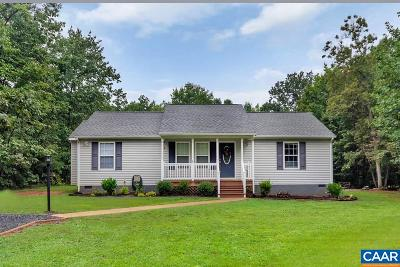 Scottsville VA Single Family Home For Sale: $179,900