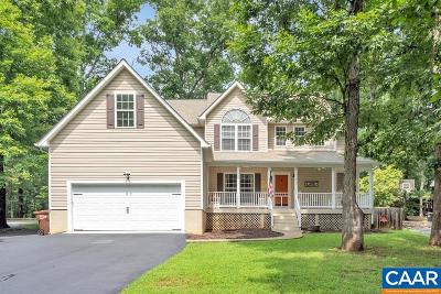 Fluvanna County Single Family Home For Sale: 657 Jefferson Dr