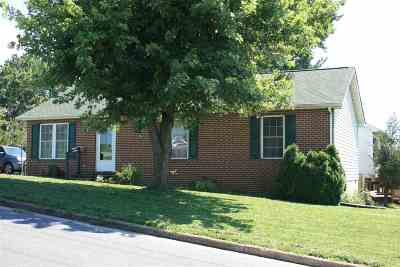 Harrisonburg Single Family Home For Sale: 195 Fifth St