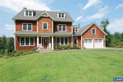 Charlottesville Single Family Home For Sale: 899 Tilman Rd