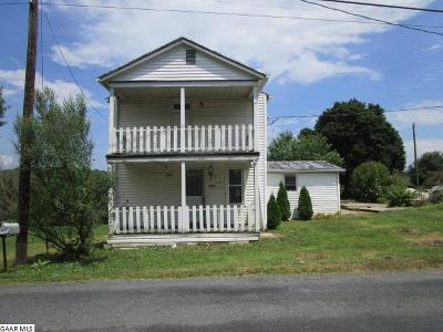 Augusta County Single Family Home For Sale: 4159 Spring Hill Rd