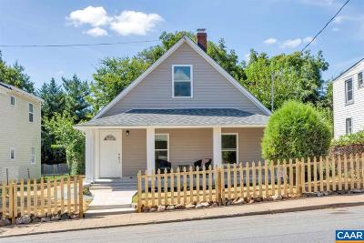 Charlottesville Single Family Home For Sale: 341 NW Tenth St