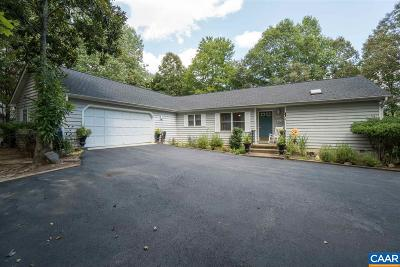 Fluvanna County Single Family Home For Sale: 444 Jefferson Dr