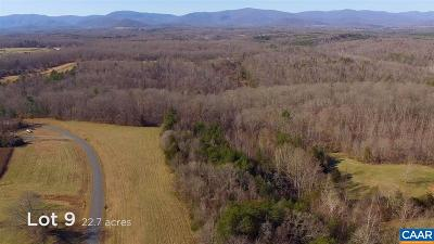 Lots & Land For Sale: 9 Frays Ridge Crossing