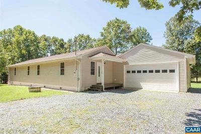 Scottsville Single Family Home For Sale: 1579 Self Rd