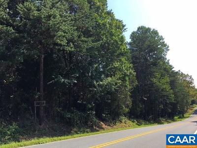 Louisa County Lots & Land For Sale: Louisa Rd